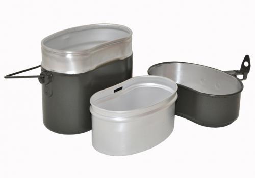 BW Essgeschirr Alu oliv