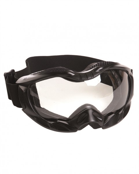 Tactical Brille Attack schwarz