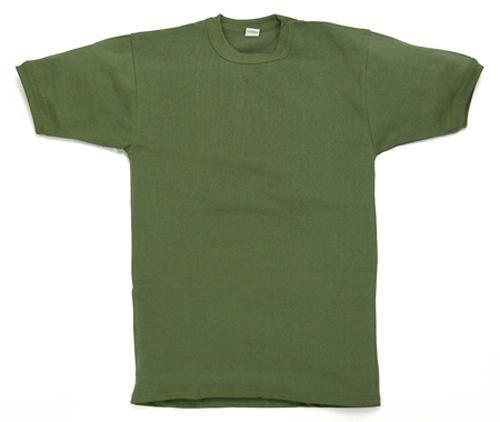 Original Bundeswehr Unterhemd kurzarm oliv