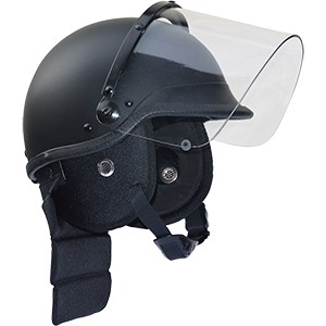 commando polizei riot schutzhelm mit visier. Black Bedroom Furniture Sets. Home Design Ideas