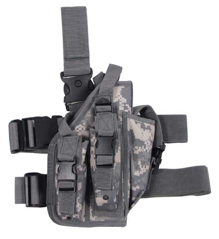 Pistolenbeinholster mit Bein- und Gürtelbefestigung rechts AT-digital