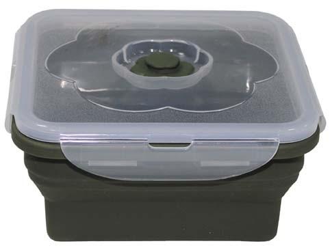 Lunchbox faltbar hoch oliv 1L