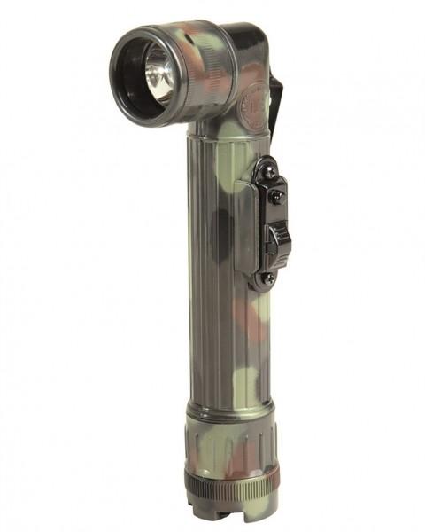 US Winkeltaschenlampe klein flecktarn - armyoutlet.de