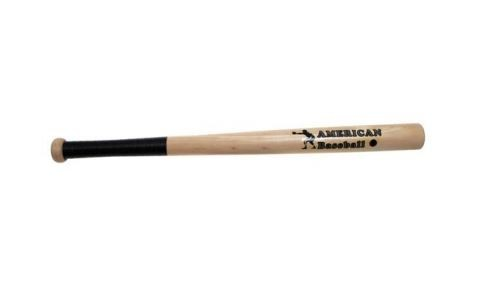 "Baseballschläger Holz 26"" natur"