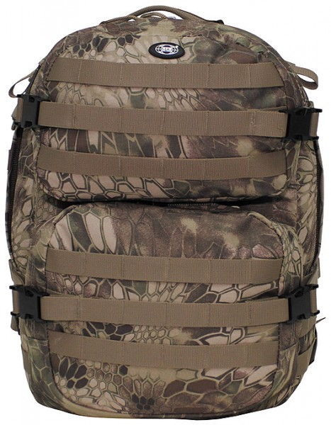US Rucksack Assault II snake black FG