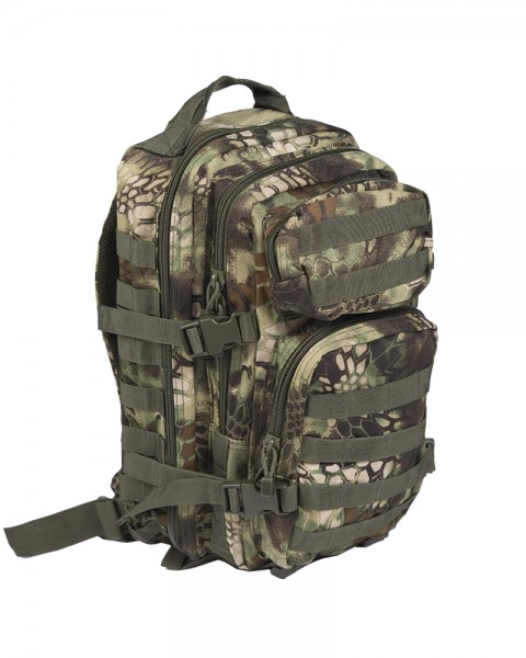 US Assault Pack Rucksack small mandra wood
