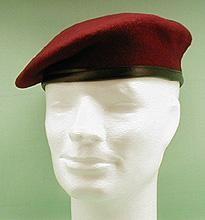 Original Bundeswehr Barett bordeaux