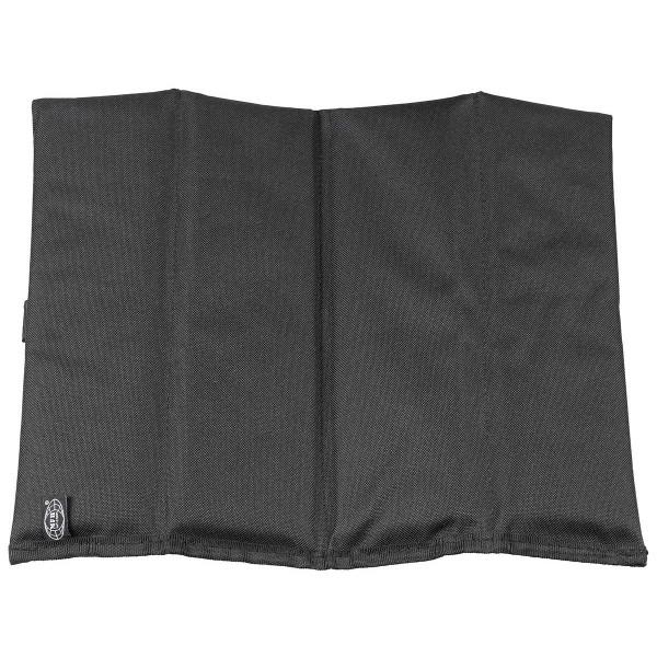 Sitzkissen faltbar - schwarz - entfaltet - armyoutlet