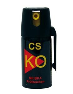 K.O. CS Abwehrspray 40 ml Breitstrahl