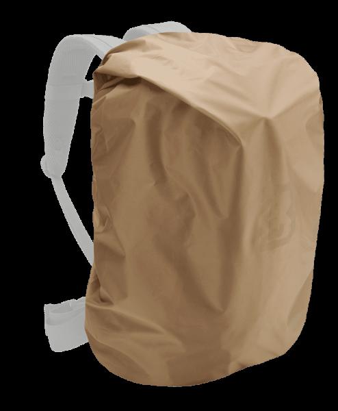 Brandit Raincover bis 50 Liter - camel - seite - armyoutlet