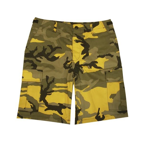 Army-Cargo Shorts Lila-Camo
