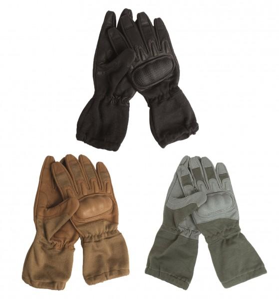 Action Gloves Lederhandschuhe mit Stulpe flammenhemmend alle Farben