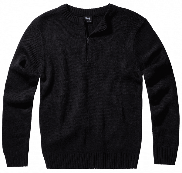 Brandit Armee Pullover - schwarz - vorn - armyoutlet