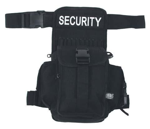 Hüfttasche SECURITY schwarz
