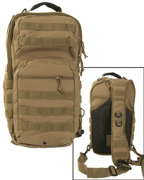 Assault Pack Rucksack One Strap large coyote armyoutlet.de