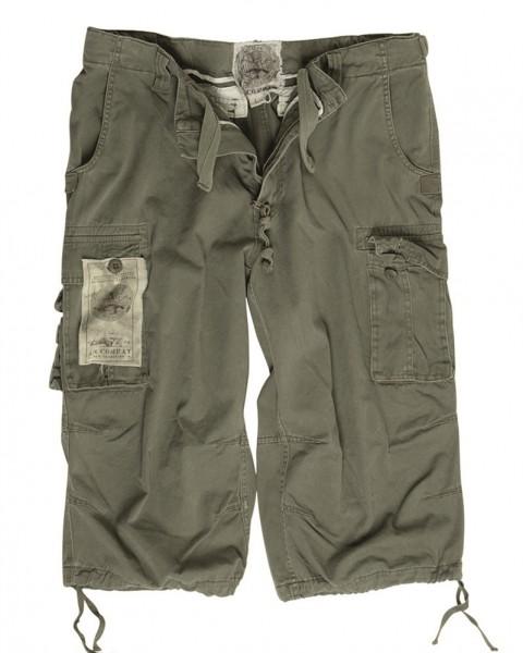 Air Combat 3/4 Pants Prewash oliv
