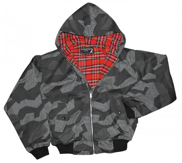 Harrington Hooded Kapuzen Jacke