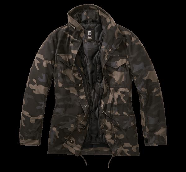 Brandit Ladies M65 Standard Jacket - darkcamo - vorn - armyoutlet