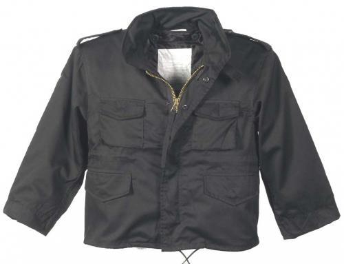 SALE Kinder M65 Jacke schwarz L
